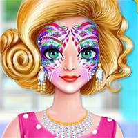 Alyssa Face Art Game