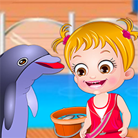 Baby Hazel Dolphin Tour Game