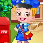 Baby Hazel Postwoman Dressup Game