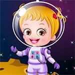 Baby Hazel Astronaut Dress-Up Game