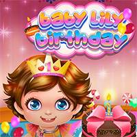 Baby Lily Birthday Game