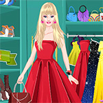 Barbie Prom Dress Up Game