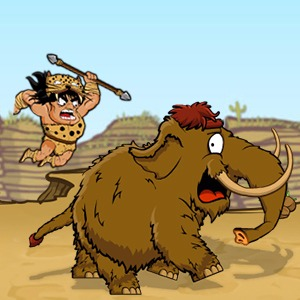 Caveman Hunt Game