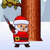Christmas Timberman Game