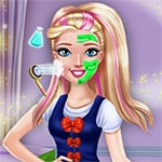 College Princess Makeover Game