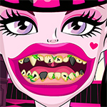 Draculaura Bad Teeth Game