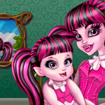 Draculaura Care Baby Game