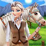 Elsa Horse Caring Game