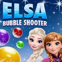 Elsa Bubble Shooter Game