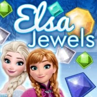 Elsa Jewels Game