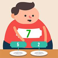 Feed Math Game