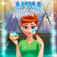 Frozen Anna Makeover Game