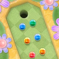 Mini Putt Gem Garden Game