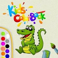 Kids Color Book Online Game