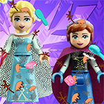 Elsa And Anna Lego Game