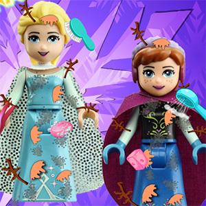 Elsa And Anna Lego