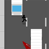 Stickman Jaywalking Game