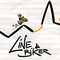 Line Biker Game