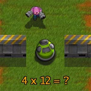 Math Defense Game