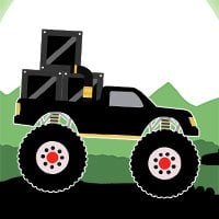 Monster Truck Delivery Game