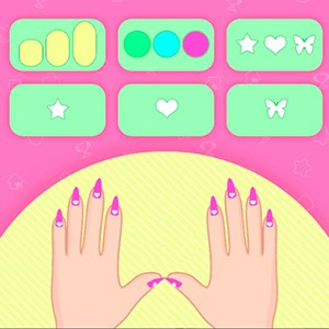 My Nail Art Salon Game