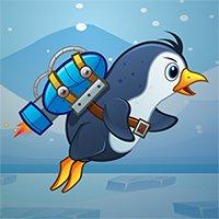 Penguin Jetpack Game