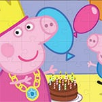 Peppa Pig Jigsaw Puzzle Game