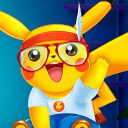 Pikachu Doctor and Dress Up Game