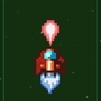 Pixel Rocket Game