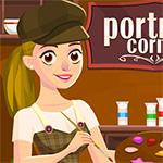 Portrait Corner Game