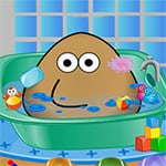 Pou Bath And Care Game