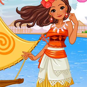Princess Moanas Ship