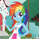Rainbow Dash Pony vs Human Game