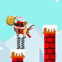 Santa Hop Game