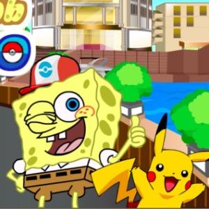 Spongebob Pokemon Go Game