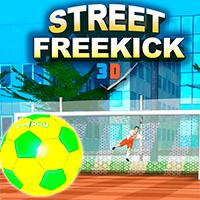 Street Free Kick 3D Game