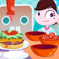 Super Chef Burger Game