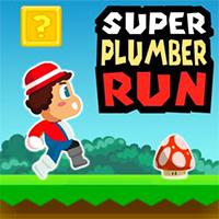 Super Plumber Run Game
