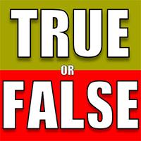 True or False Quiz Game