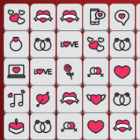 Valentines Mahjong Game