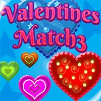Valentines Match3 Game