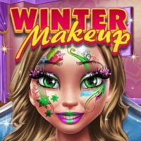 Winter Makeup Game