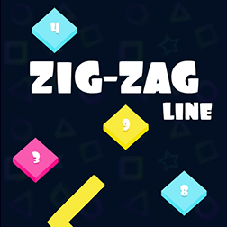Zig Zag Line Game