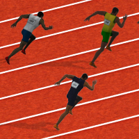 100 Meters Race Game