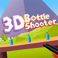 3D Bottle Shooter Game