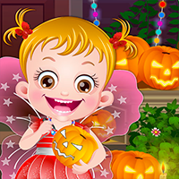 Baby Hazel Halloween Party Game