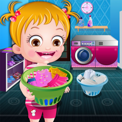 Baby Hazel Laundry Time Game
