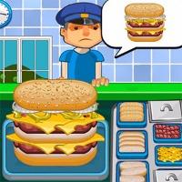 burger and hotdog cooking games