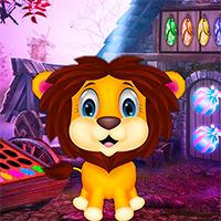 Bonny Baby Lion Escape Game