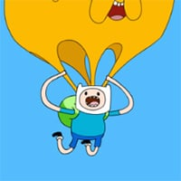 Finn and Jake's Candy Dive Game